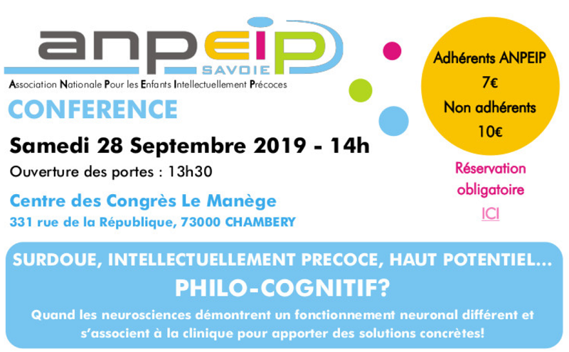 Conférence sur les philo-cognitifs