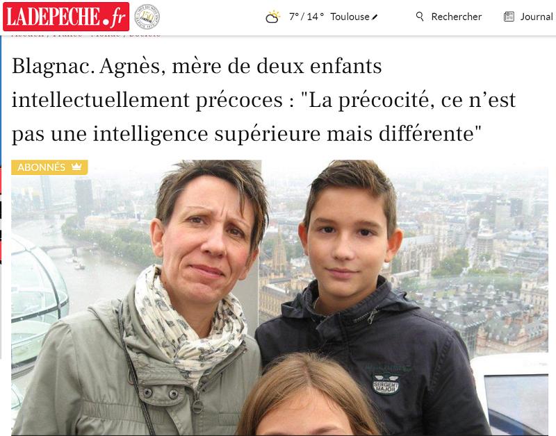 Enfants intellectuellement précoces