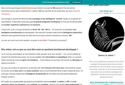 Suivez le Zèbre Blog